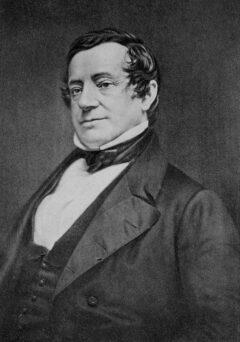 Daguerreotype of Washington Irving alias Diedrich Knickerbocker, c. 1860.