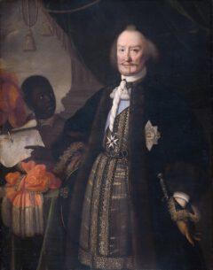 "Johann Moritz Prince of Nassau-Siegen, called ""The Brazilian"" in a painting by Pieter Nason in 1675."