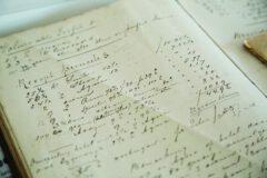 Handwritten recipe.