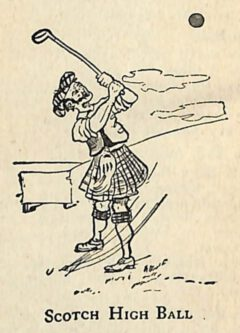"""The Scotch High Ball by Paul Lowe in his 1904 book """"Drinks As They Are Mixed""""."""