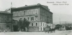 The factory building from 1861.