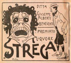 Strega advertisement from 1902.