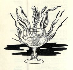 1949 Emile Bauwens. Livre de Cocktails. Page 54. Manhattan Cocktail (sec).