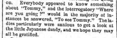 Excerpt from The Japanese Embassy . The Brooklyn Daily Eagle, 16. June 1860, page 3.