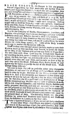 Anonymus, 1722 - The late dreadful Plague. Page 7.