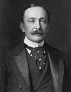 August Belmont in 1904.