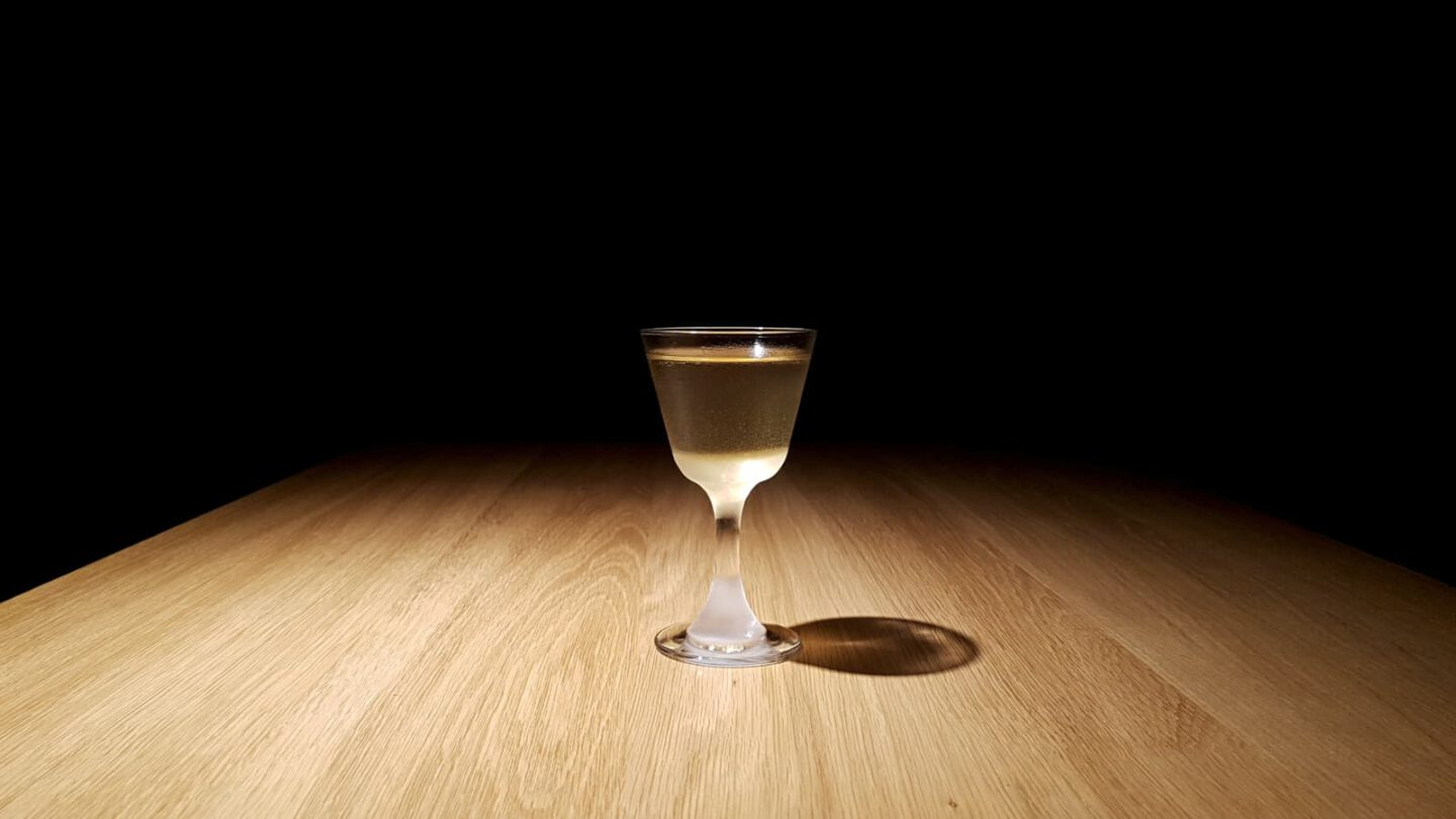 Bamboo Cocktail.