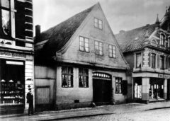 Heinrich von Have - The predecessor building in Große Straße, today Sachsentor 32.