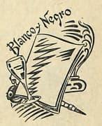 Blanco y Negro Cocktail. Pedro Chicote, La ley mojada, 1930, page 109.
