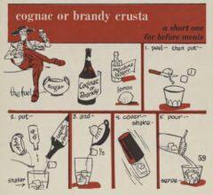 Brandy Crusta. Robert H. Loeb, Nip Ahoy, 1954. Page 59.
