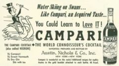 Campari Cocktail. The New Yorker, 13. October 1956, page 199.