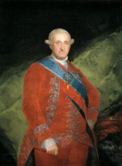 Carlos IV, King of Spain, 1789.