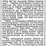 Chicago Tribune, 14. May 1893, page 14.