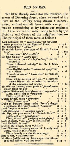 Cock-tail. Morning Post and Gazetteer, 20. March 1798.