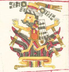 Mayahuel, from the Codex Borgia.