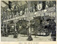 The Jamaica Stand at the London Colonial and Indian Exhibition in 1886