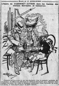 Dubonnet Citron - Le Matin, 5. August 1904, page 6.