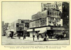 Corner 42nd Street - Broadway, 1898.