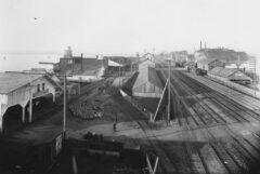Emeryville - stockyards in 1915.