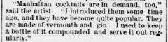 Evening Star, 4. December 1883, pagee 7. Life in Chicago. Snippet..