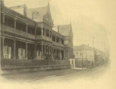 The Grand Hotel in Yokohama, around 1908.