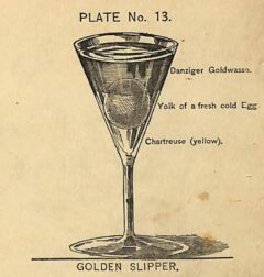 Harry Johnson: New and Improved Illustrated Bartender's Manual, plate 13. 1888.