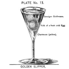 Harry Johnson: New and Improved Illustrated Bartender's Manual, plate 3. 1900.