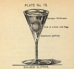 Harry Johnson: New and Improved Illustrated Bartender's Manual, plate 13. 1934.