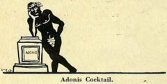 Harry McElhone - Barflies and Cocktails - Adonis Cocktail (1927).