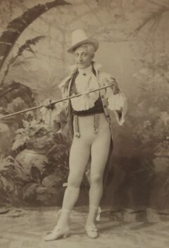 Henry E. Dixey as Adonis.