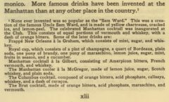 History of the Manhattan Club. Page xlii.