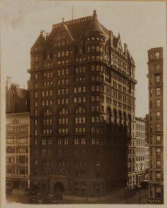 Hotel Netherland, around 1923.
