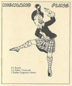 Jean Robert Meyer- Bottoms Up. 1934. Page 23. Highland Fling.