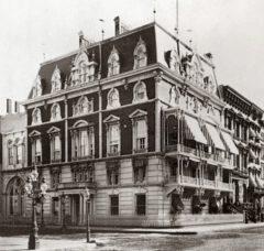 Jerome Mansion around 1877.
