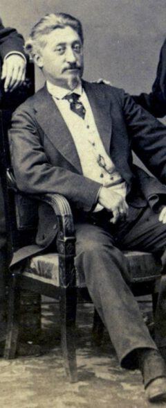Joseph Santini, 1869.