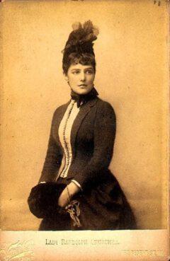 Lady Randolph Churchill (Jenny Jerome).