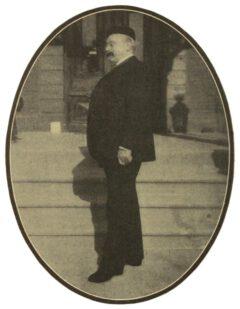 Louis Eppinger, around 1908.