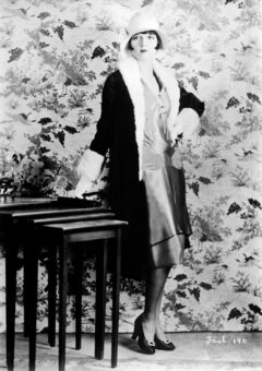 """Louise Brooks on 25 July 1927. She advanced to silent film stardom as a """"flapper"""" in numerous comedies."""