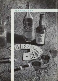 Manhattan. Marcel Pace, Nos meilleures boissons, 1954. Page 99.