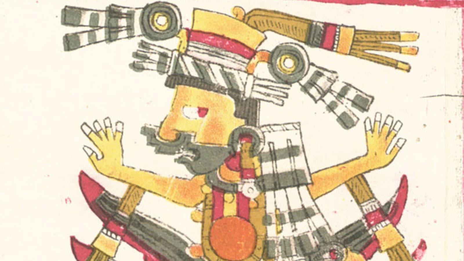 Mayahuel, from the Codex Borgia. Beitragsbild.
