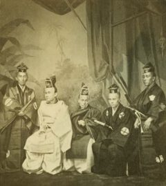 Members of the Japanese legation.