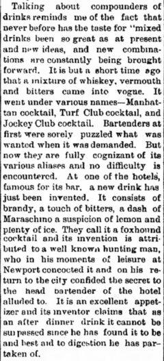 New Olean Democrat, 5. September 1882, page 1.