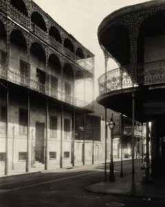 The Gardette-La-Petre House in New Orleans' French Quarter, c. 1937.