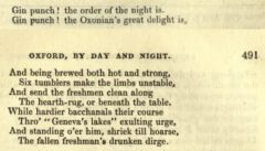 Oxford by Day and Night. Monthly Magazine, 1836, page 490-491.