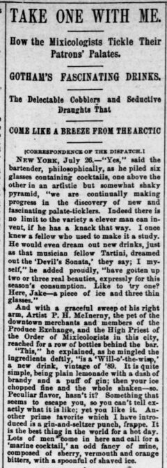 Pittsburg Dispatch, 28. Juli 1889, Page 15.