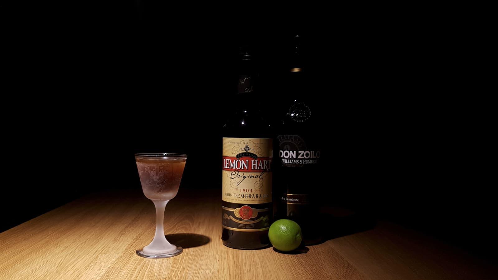 Quarter Deck Cocktail.
