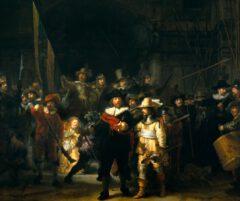 Rembrandt van Rijn - The Night Watch (1642).