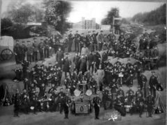 Reserve der 5. Comp. Inf. Regt. Graf Bose (1. Thür) Nr. 31, Altona, 1900-1902.