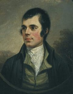 Robert Burns in 1787.
