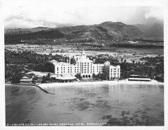 Royal Hawaiian Hotel circa 1928.